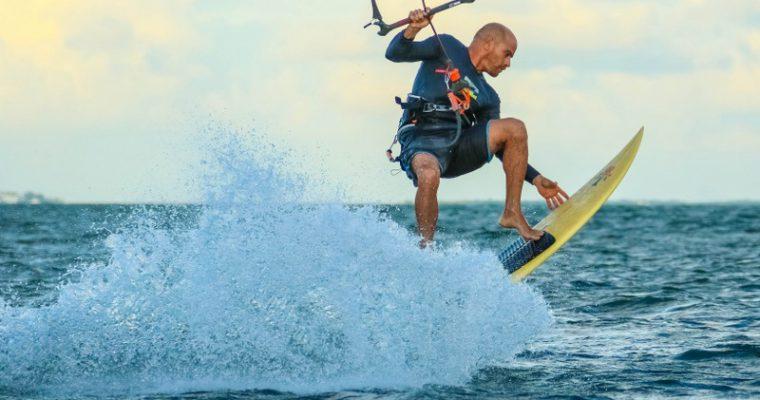 Il kitesurf migliora il benessere mentale