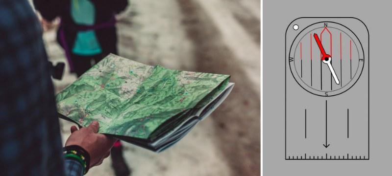 Come si legge una carta topografica da trekking